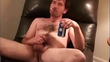 RoughHairy.com- Hairy Sickly Trash in Boxer Shorts