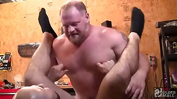 Hot and Hairy Atlas Grant takes Chunky Dick As a result Acquiescent