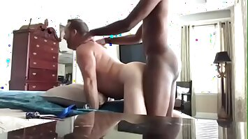 White Dads love young BBC , In serious trouble and Deep interracial breeding