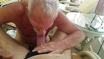 Another fiend in my buddy's mouth